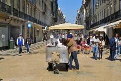 Lisbon Street Vendor