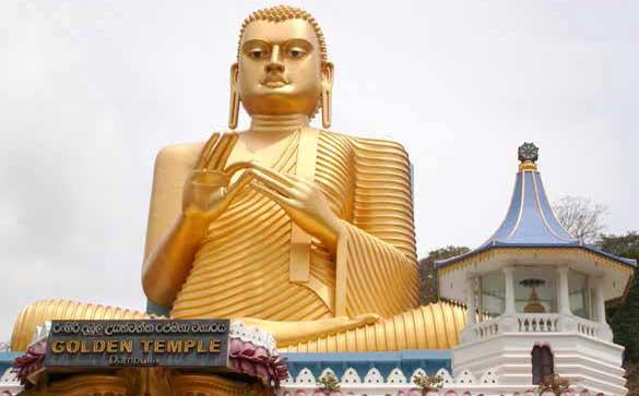 Sri Lanka - Golden Temple in Dambulla